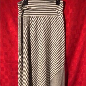 Ankle length maxi skirt